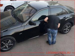 Вскрытие автомобиля Mercedes-Benz w212